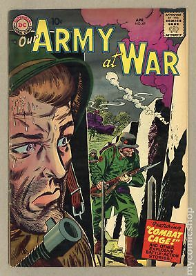 Our Army at War #69 1958 GD+ 2.5