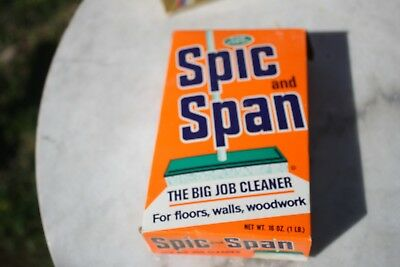 Vintage new, Spic and Span 1 LBS  sealed Cleaner, Soap