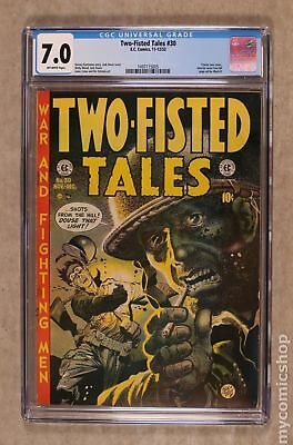 Two Fisted Tales (EC) #30 1952 CGC 7.0 1497115005