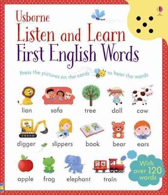 Listen and Learn First English Words by Sam Taplin 9781409582489