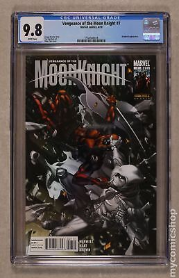 Vengeance of Moon Knight #7A 2010 CGC 9.8 1554508018