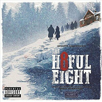 ENNIO MORRICONE The Hateful Eight OST 2015 CD BRAND NEW Quentin Tarantino H8ful