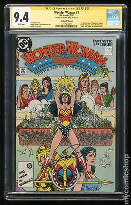 Wonder Woman (2nd Series) 1B 1987 No Month Variant CGC 9.4 SS 1237582003