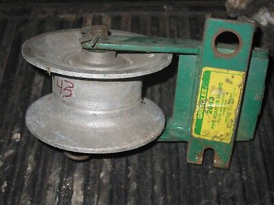 GREENLEE 2043 Pipe Adapter Sheave For  Cable Puller