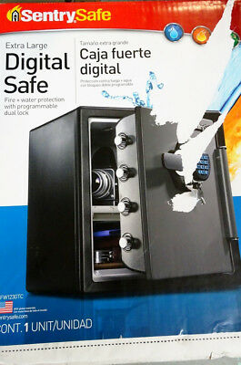 SentrySafe Digital Safe Extra Large w/Programmable Dual Lock NEW 6/B9559A