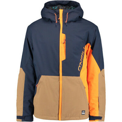 O Neill Suburbs Mens Jacket Snowboard - Ink Blue All Sizes