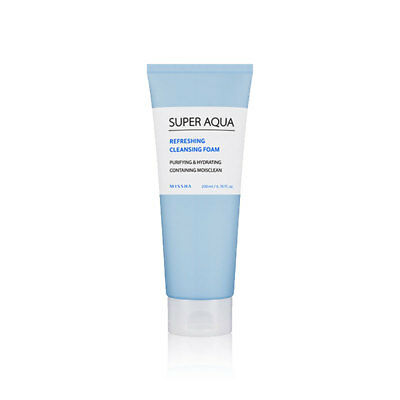 [MISSHA] Super Aqua Refreshing Cleansing Foam 200ml - BEST Korea Cosmetic