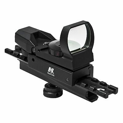 NcSTAR Combo/Carry Handle Adapter/Red And Green Reflex Sight w/ 4 : KARHD4RGB-A