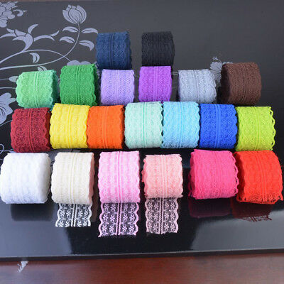 Soft Lace Table Runner Roll For Wedding Chair Dress Wrap Fabric Craft DIY Decor