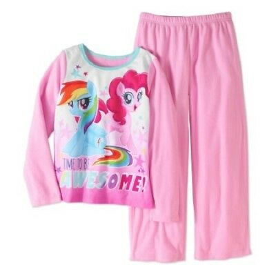 NWT Girls Size 7/8 My Little Pony The Movie Time To Be Awesome Pajamas NEW