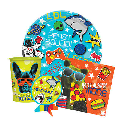 EPIC PARTY Birthday PARTY Range NEW Tableware Balloons & Decorations Supplies