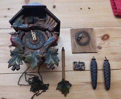 vintage cuckoo clock - spares and repairs