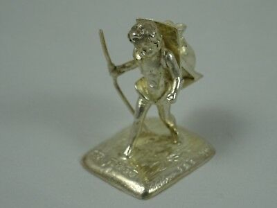EDWARDIAN  solid silver `MARKET BOY` 1901, 21gm