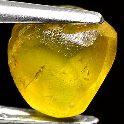 TOP IF FLAWLESS 2.55ct NATURAL100% UNHEATED CHRYSOBERYL ROUGH FACET NR!