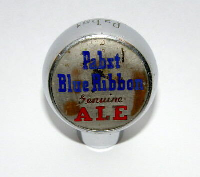 Vintage Pabst Blue Ribbon Genuine Ale Tap Knob Handle