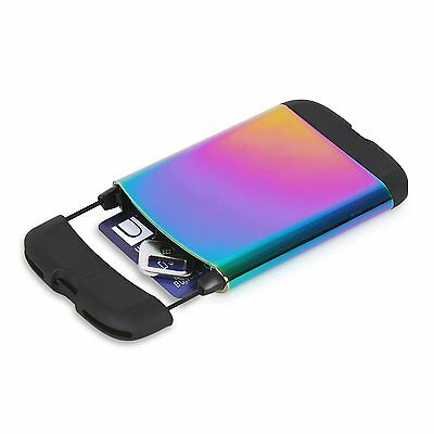 Umbra BUNGEE RAINBOW business card case/wallet 1008217-1063 NEW COLOR
