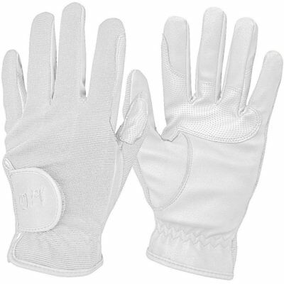 Mark Todd Super Riding Unisex Gloves Competition Glove - White All Sizes