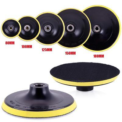Car Polishing Buffing Pad Hook Loop Backer Plate Select Size Sets Backing SS US#