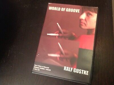 Ralf Gustke: World Of Groove (2 DVDs) Schlagzeug Playalongs Lessons Concepts