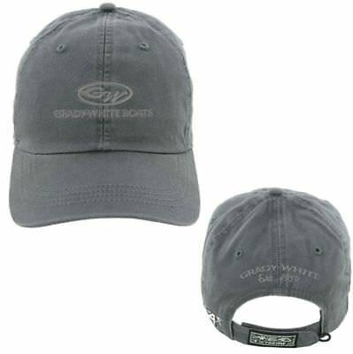 Grady White Boats Grey Ahead Vintage Cap Hat Unstructured