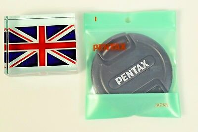 100% Genuine Original Pentax O-Lc67 67Mm Snap On Lens Cap Brand New In Bag In Uk