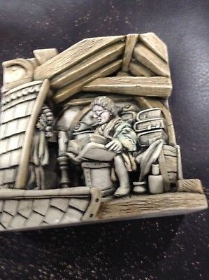 Harmony Kingdom Picturesque tile Wimberley Tales the Lawyer  NIB VERY NEAT!!