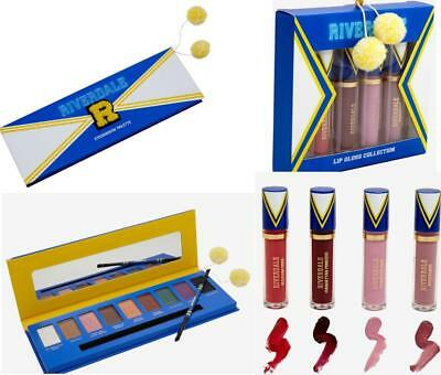 Riverdale Varsity Cheer Eyeshadow 9 Shade Palette & 4 PC Lip Gloss Collection