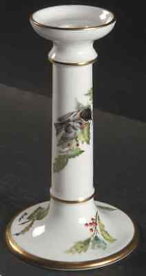 Boehm CHICKADEE & HOLLY Candleholder 1003740