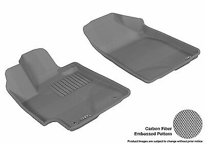 3D Anti-Skid Front Fits Highlander 2008-2013 GTCA70380 Gray Waterproof Auto Part