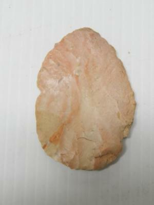"""Antique Large Size  Arrowhead 2 3/4""""  Serrated Texas Collection Nr"""