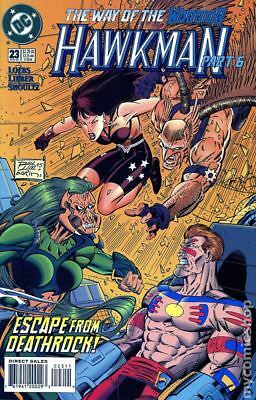 Hawkman (3rd Series) #23 1995 VF Stock Image