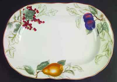 "Charter Club SUMMER GROVE 14 3/8"" Oval Serving Platter 2477534"