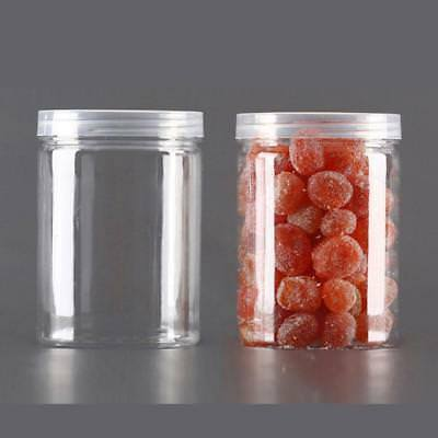 Transparent Sealed Cans Storage Box Plastic Storage Tank Food Candy Container