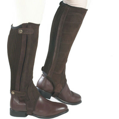 Just Togs Comfort Fit Suede Half Womens Footwear Chaps - Brown All Sizes
