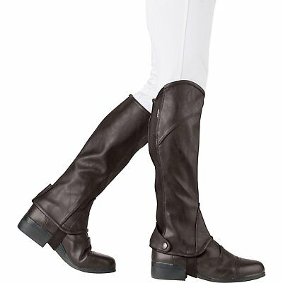 Dublin Adults Stretch Fit Half Unisex Footwear Chaps - Brown All Sizes