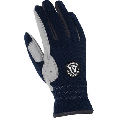 Mountain Horse Happy Womens Gloves Everyday Riding Glove - Navy All Sizes