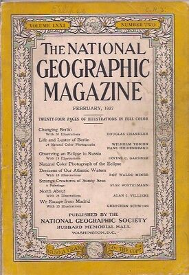 national geographic-FEB 1937-OBSERVING AN ECLIPSE IN RUSSIA.