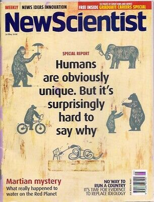 NewScientist-24 may 2008-HUMANS ARE OBVIOUSLY UNIQUE.BUT IT'S SURPRISINGLY .....