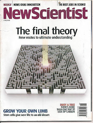 NewScientist-3 may 2008-THE FINAL THEORY.