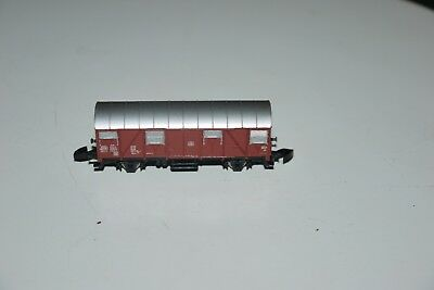 MARKLIN mini club # 8605 Z Scale Model Train Freight Carrier Box Car IN THE BOX