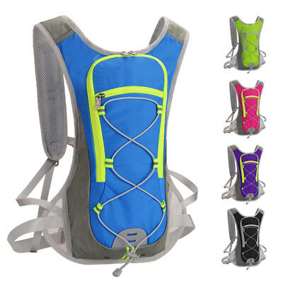 12L Lightweight Water Bladder Bag Hydration Backpack Camping Hiking Cycling Pack