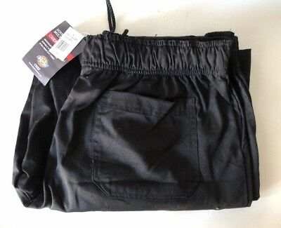 Dickies Chef Pants DC228 Black XL new with tags
