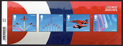 2018 RAF CENTENARY - RED ARROWS Stamp Mini Sheet Mint - WITH BARCODE MS4064