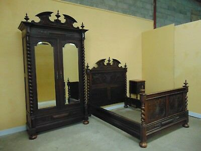 Grand Chateau Bedroom Suite Louis XIII C1889