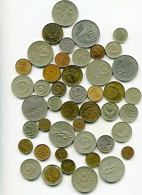 Russia   lot of (45) vintage  coins   lotmar2792