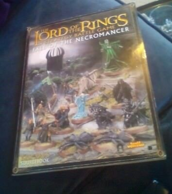 Lord Of The Rings  - Fall Of The Necromancer Strategy Battle Game Sourcebook