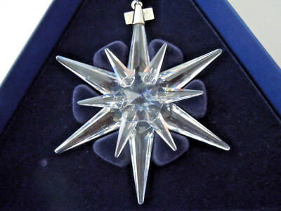 Swarovski Crystal 2005 Annual Ornament Star Snowflake W/ Box
