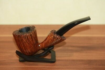 "MERLE-PIPES ESTATE THOMAS ""TOMMI"" TEICHMANN Handmade Pfeife 9mm Filter Germany"