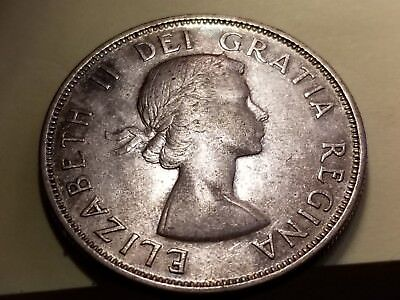 1953 Canadian Silver 50 Cents