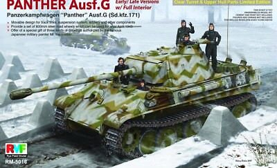 RYE FIELD RM-5016 Panther Ausf.G Late/Early w/Full Interior in 1:35 Limited